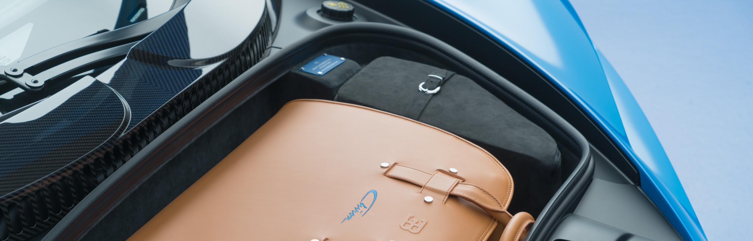 Bugatti Chiron Bagażnik