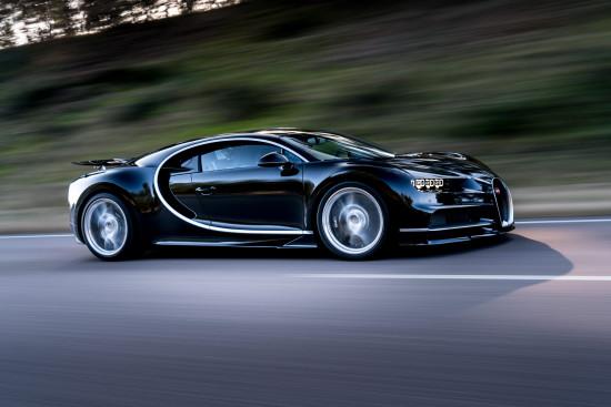 Bugatti Chiron bok