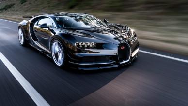 Bugatti Chiron Przód