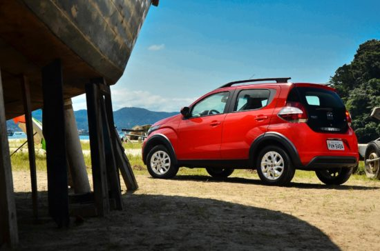 Fiat Mobi - bok