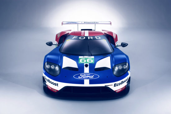 2016 World Endurance Championship. Banbury, England Ford GT Launch. 5th January 2016. Photo: Drew Gibson.