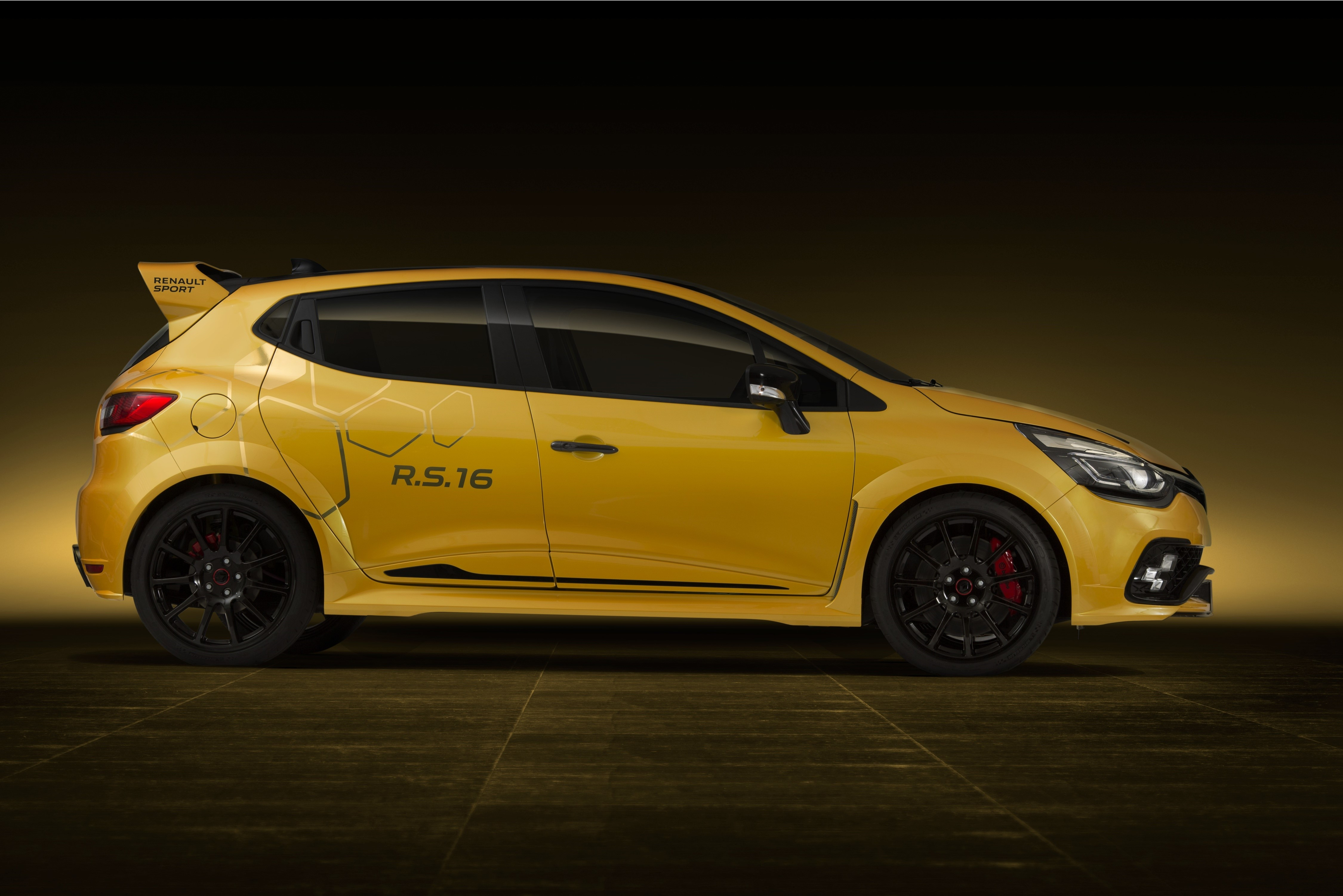 Renault Sport Clio RS16 - bok
