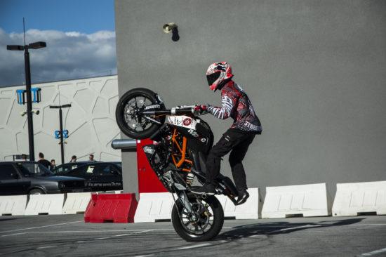 Pokazy Stuntu motocyklowego