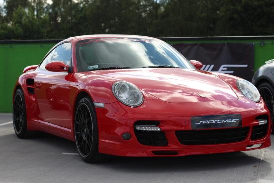 Porsche 997 Turbo S, SportMile, targi Night Power