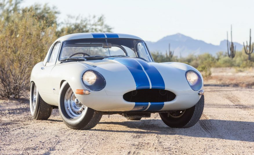 Jaguar E-type Lightweight Competition Coupe