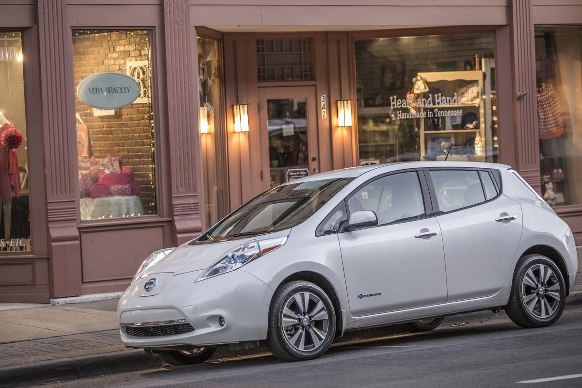 Testy autonomicznego Nissana