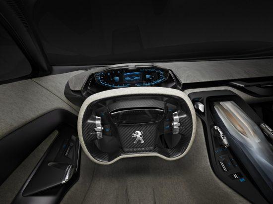 Peugeot Onyx - wnętrze