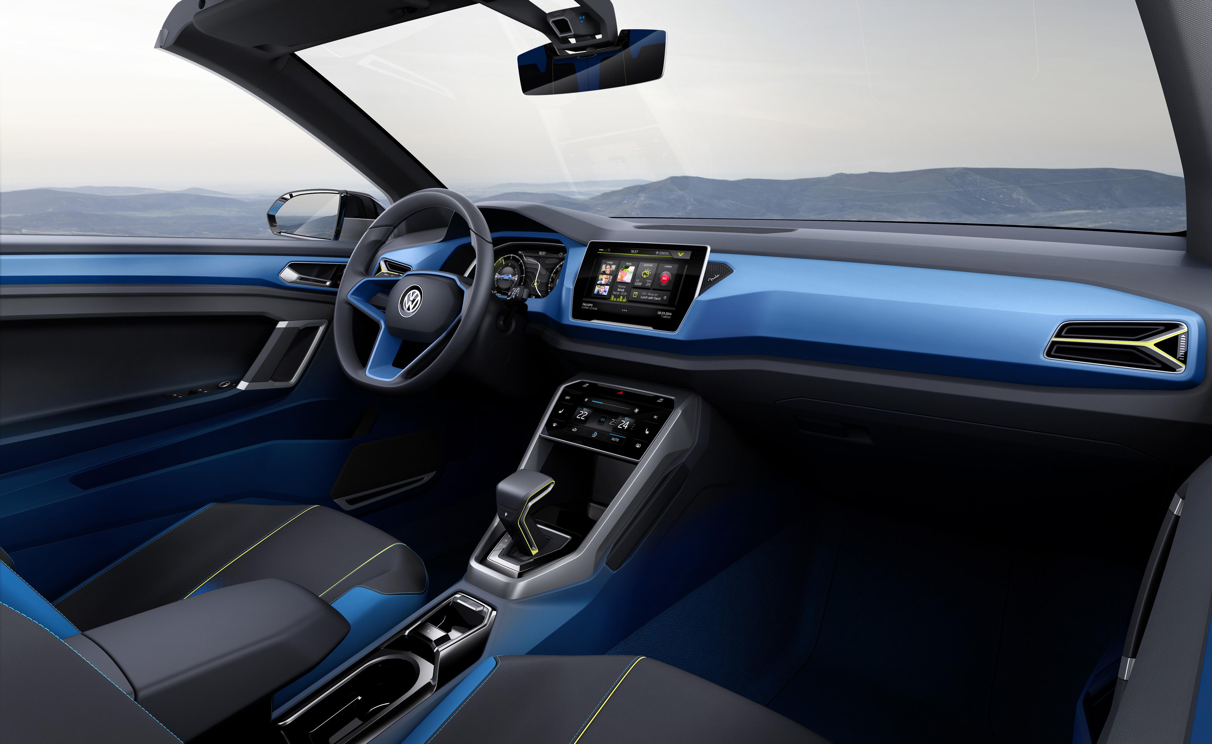 VW T-ROC wnętrze