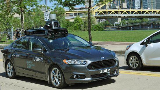 Autonomiczne auto Ubera