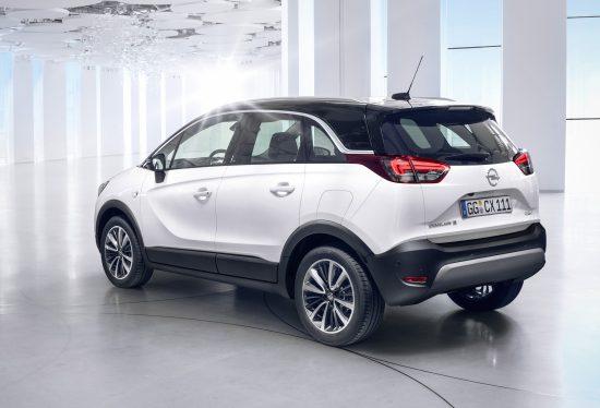 Opel Crossland X - tył