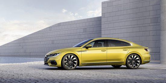 Volkswagen Arteon - lewy profil