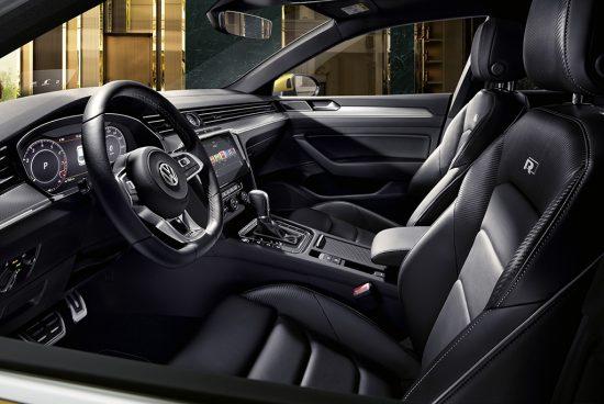 Wnętrze Volkswagena Arteon