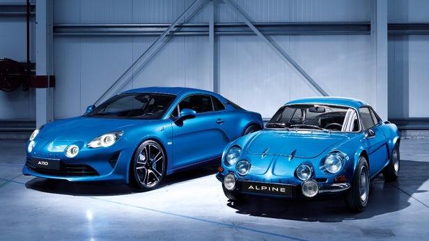 nowe Alpine A110 i Alpine z lat '61-'77