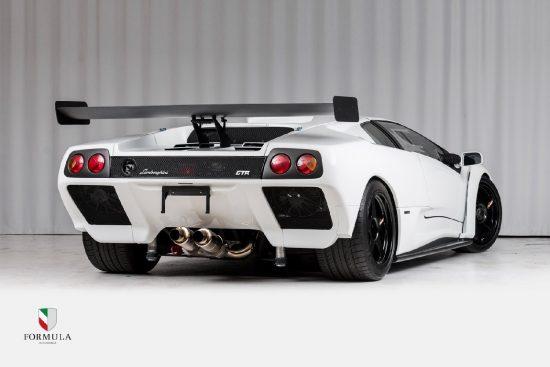 Lamborghini Diablo GTR tył