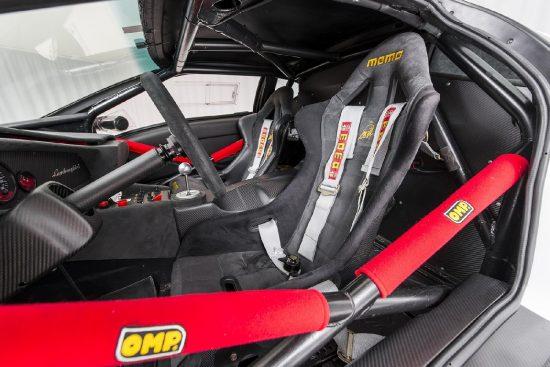 Lamborghini Diablo GTR wnętrze