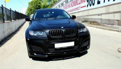 BMW X6 pokryte skórą